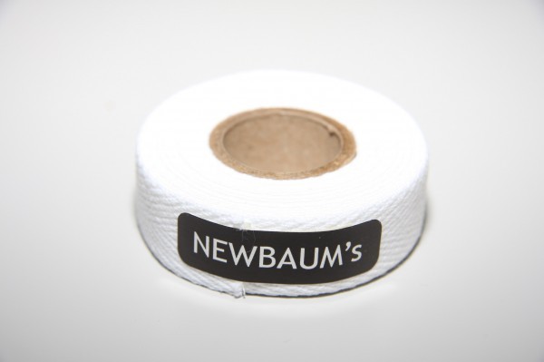 Newbaum's Lenkerband aus Baumwolle, Weiß