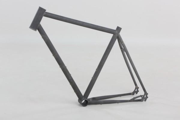 Rahmen Gravel Bike, roh, Größe M, L oder XL