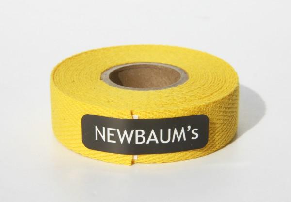 Newbaum's Lenkerband aus Baumwolle, Yellow