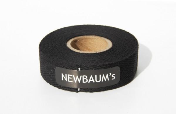 Newbaum's Lenkerband aus Baumwolle, Schwarz