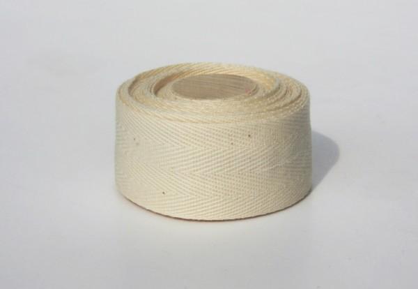 Bio Lenkerband aus Baumwolle, natur