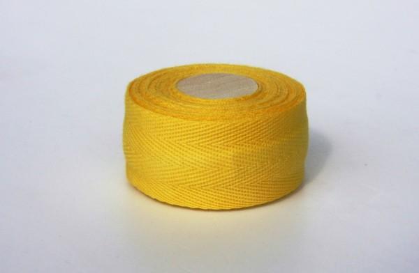 Bio Lenkerband aus Baumwolle, gelb