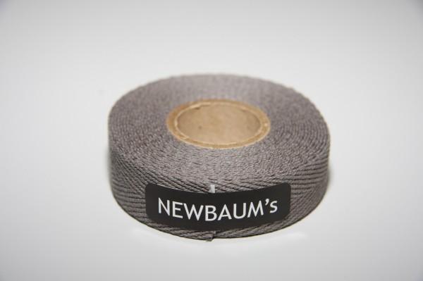 Newbaum's Lenkerband aus Baumwolle, Dark Grey Dunkelgrau