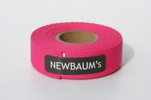 Newbaum's Lenkerband aus Baumwolle, Hot Pink