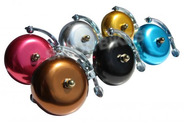 Rennrad Glocke / Klingel, eloxiert, verschiedene Farben
