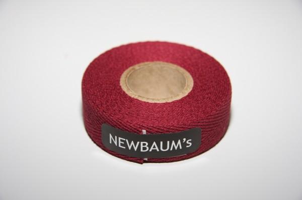 Newbaum's Lenkerband aus Baumwolle, Burgund (Maroon)